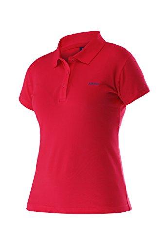 adidas Oberkörper-Bekleidung Club Mary Poloshirt Button Women Rot, M -