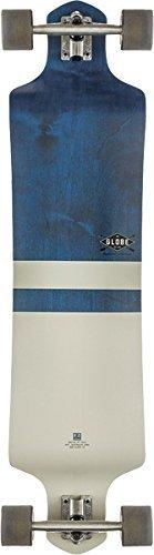 Globe Geminon Complete Longboard - 9x41 Blue/White Drop-Down by Globe