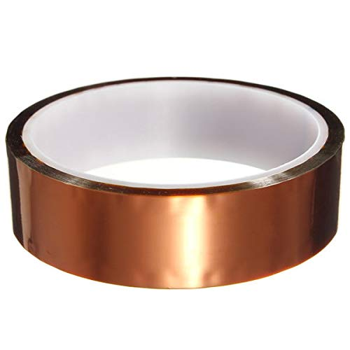 GIlH 30m*25mm Polyimide Tape Heat Resistant Insulating tape -
