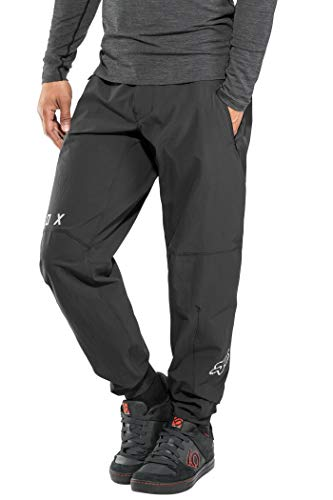 Fox Racing Stoff (Fox Flexair Race Pants Herren Black Größe US 38 2019 Fahrradhose)