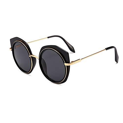 XHCP Frauen Polarisierte Klassische Pilotenbrille, Polarisierte Sportsonnenbrille Männer und Frauen Design Ski Baseball Golf Radfahren Angeln Joggen Fahren Ultraleichter Rahmen (Farbe: Schwarz)