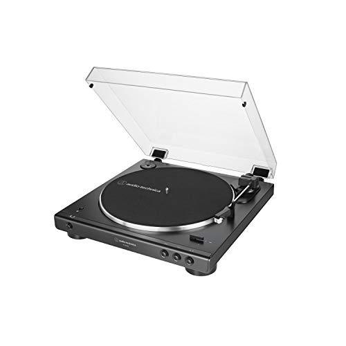 Audio-Technica LP60XBT Vollautomatischer Bluetooth Stereo-Plattenspieler, schwarz