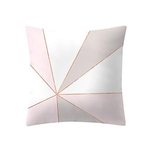 VJGOAL Moda Casual Imprimir Rosa Extraíble y Lavable Decoración del Hogar Funda...