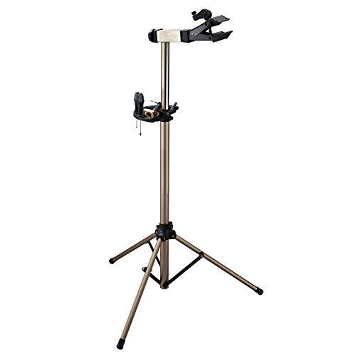 Nuovo qualità Cervus 3 gambe Base manutenzione per cavalletto riparazione di biciclette, pieghevole, in lega, con vassoio, classe 1