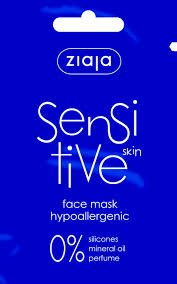Ziaja Sensitive Skin Maske (20x Sachet mit 7 ml)