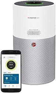 Hoover H-PURIFIER 300 Connected Air Purifier, HHP30C, Removes Allergens, Pollen, H13 HEPA & Carbon VOC Tri