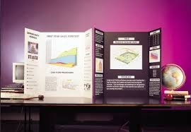 White Tri fold Spotlight Foam Presentation Board 420 x 594mm x 1 A2 white for displaying artwork and projects. Rigid and lightweight that is