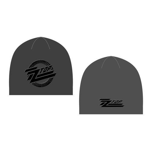 Zz Top Beanie Hat: Circle Logo