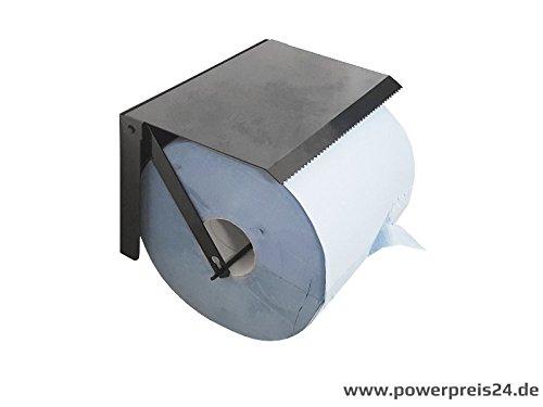 Putztuchrollen-Wandhalter Werkstattrollenhalter aus Metall von Powerpreis24de