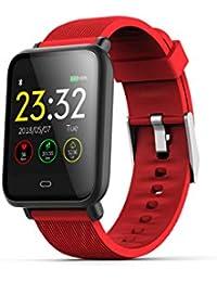 DZKQ Reloj Inteligentepresión Arterial Monitor De Ritmo Cardíaco Reloj Inteligente Impermeable Deporte Fitness Reloj Hombres Mujeres