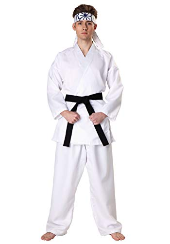 SSCO Pak Inds Karate Kid Daniel San Fancy Dress Costume Medium