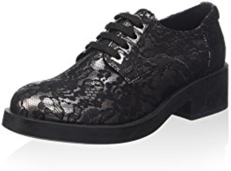 Guess Damen Schnürer Schwarz 40 EU 2018 Letztes Modell  Mode Schuhe Billig Online-Verkauf