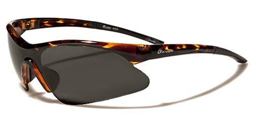 Oxygen Sonnenbrillen - Sport - Radfahren - Skifahren - Laufen - Driving - Motorradfahrer/Mod. 4300 Braun Speckled Kristall