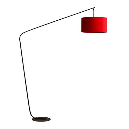 & Stehlampen Stehlampe, LED-Lichtquelle 5W Stehlampe, Wohnzimmer LED Arc Stehlampe hinter dem Sofa, moderne kreative Angeln Lampe Nachttischlampe Piano Licht (Color : A) - Licht Arc Stehlampe