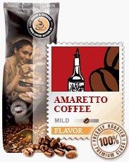 GOURVITA Flavored Coffee Beans Amaretto 1000G