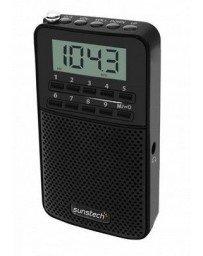 Sunstech RPDS81 - Radio portátil Digital Am/FM con Altavoz Integrado y función...