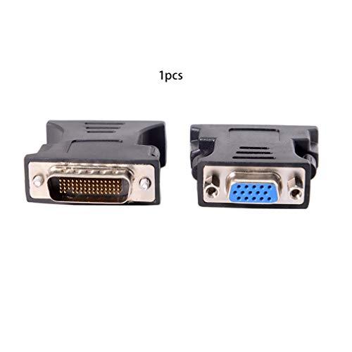 Schwarz 1 Zu 1 Dms-59 Dms59 59Pin Dvi Stecker Auf 1-Port Vga Buchse Video Y Splitter Kurzes Kabel 1 Pc Auf 1 Monitor -