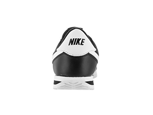 Nike Mens Cortez Basic Leather Trainers Noir Blanc