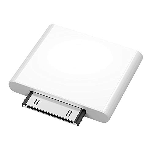 leegoal 30-poliger Bluetooth-Transmitter für IPod Classic, IPod Nano, IPod Touch, IPod Shuffle, IPod Mini, IPod Schwarz, Weiß Bluetooth Adapter Ipod Video