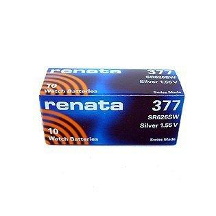 Batterie 377 SR626SW pour l'électronique
