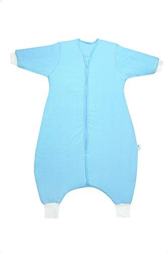 Schlummersack Schlafsack mit Füssen für den Winter in 3.5 Tog mit langen Ärmeln - Blau - 18-24 Monate/90 cm