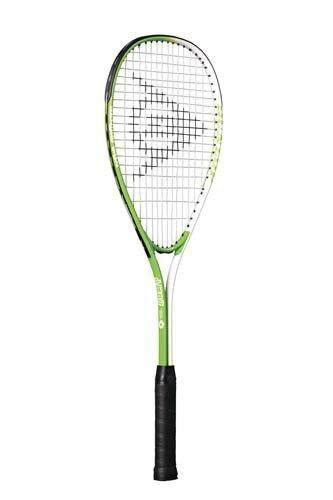 Dunlop Mini Squash-Schläger mit Titan-Legierung, leicht, Grün