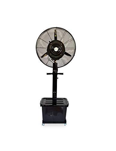 Ventilador Industrial de pie Oscilante con Nebulizador de Agua, Diámetro 65 cm
