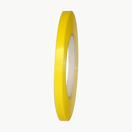 JVCC BST-24 Bag Sealing Tape: 3/8 in. x 180 yds. (Yellow) by J.V. Converting