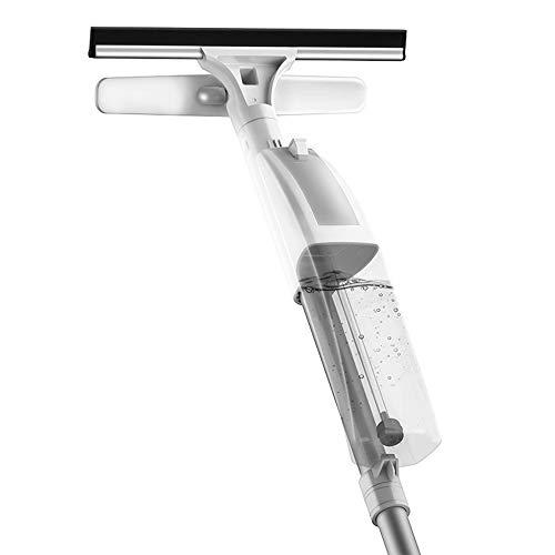 Tergicristallo a Doppia Faccia Alta - Mop Spray Mop in Microfibra a stiramento Libero Detergente per vetri per Uso Domestico per Pavimenti in Legno, Legno, Laminato, Piastrelle