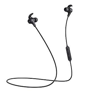 AUKEY Bluetooth Kopfhörer in Ear V4.1 mit AptX, 3 EQ Klangmodi, CVC 6.0 dual-mic und 8 Stunden Spielzeit, magnetisch Sport Kopfhörer für iPhone, Apple Watch, Android, Echo Dot und Weitere Geräte