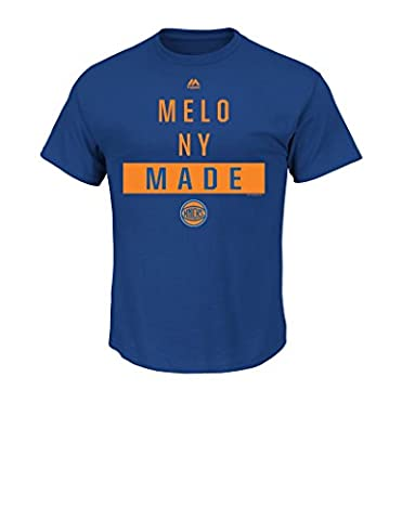 NBA New York Knicks Carmelo Anthony Men's 7 Still The One Tee, Small, Royal