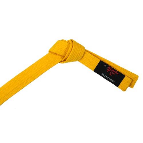 Depice - cintura da arti marziali/judo, colore: giallo