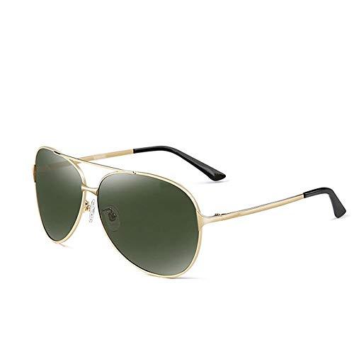 Szblk Sonnenbrillen Polarisierte Sonnenbrillen Sonnenbrillen Fahren Brillen Sport-Sonnenbrillen 100% UV-Reisebrillen Retro-Brillen (5.62in * 5.9in * 2.2in) (Color : Green)