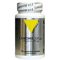 Vitall+ - Chrome 100µg (100 comprimés)