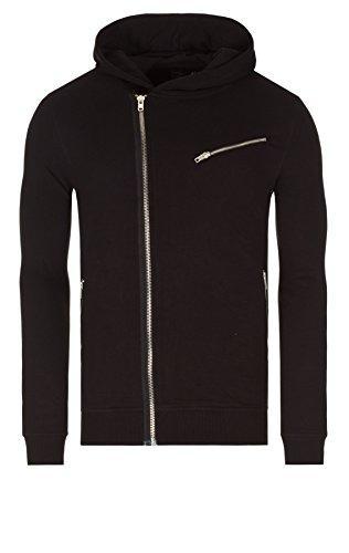 Solid Sweatshirt - Truman Sweatjacke Zip-Hoodie 2014 Star MOD 16086 D.G, (9000) black, L Mod Zip-hoody