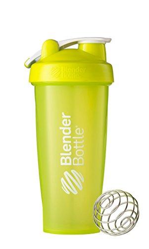 Blender Bottle Classic Loop - Protéine Shaker   Bouteille d'eau avec poignée de transport   820 ml  vert