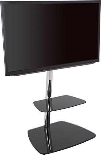 AVF 39074Iseo Freitragende TV-Ständer für bis zu 55TVs-Schwarz/Silber Avf-tv