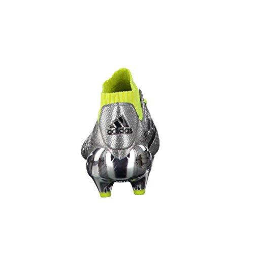 adidas ACE 16.1 Primeknit FG Fußballschuh Kinder SILVMT/CBLACK/SYELLO