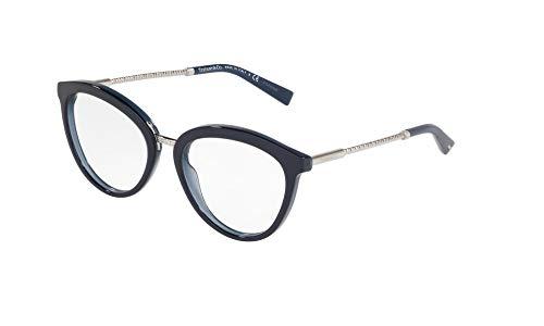 Tiffany & Co. Damen Brillengestell Blau Blu Con Dettaglia Argento Einheitsgröße