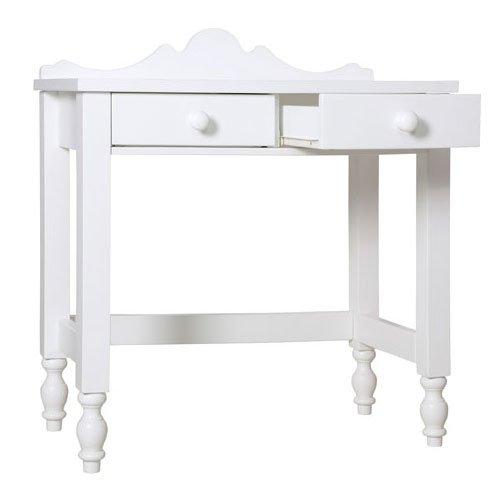 Preisvergleich Produktbild Bopita Belle Beistelltisch | weiß | Schminktisch | H 87,5 x B 80 x T 40 cm