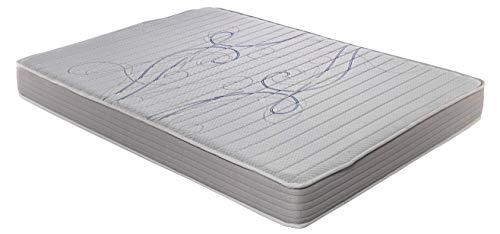 ROYAL SLEEP Colchón viscoelástico 90x190 de máxima Calidad, Confort y firmeza Alta, Altura 14cm...