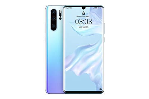 "Huawei P30 Pro - Smartphone de 6.47"" (Kirin 980 Octa-Core de 2.6GHz, RAM de 8 GB, Memoria interna de 128 GB, cámara de 40 MP, Android) Color Nácar [Versión española]"