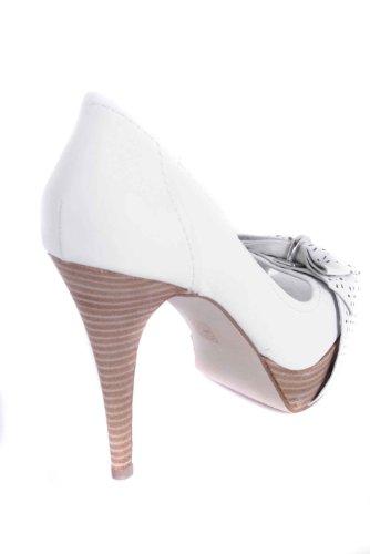 Guess FL2KA2SAT07 Escarpins Femme Blanc - Blanc