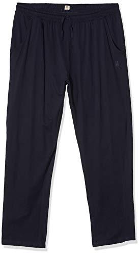 JP 1880 Herren große Größen bis 8XL, Pyjama-Hose aus 100{72dfb7f730a7f2c665a0a73f1860b34e809f872fb0c025c95413b2c960c10d4a} Baumwolle, Schlafanzug-Hose, Sweatpants mit elastischem Bund Navy 6XL 708406 76-6XL