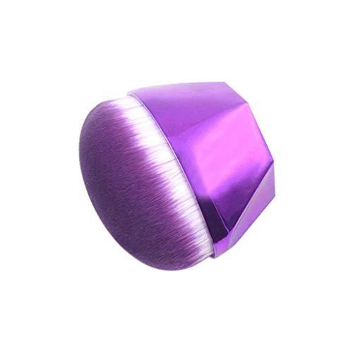 Dorical Lingotto singolo diamante con manico diamantato per pennello base in polvere Pennelli Make up Spazzola per manico Quicksand con manico in diamante rosa