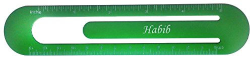 bookmark-ruler-with-engraved-name-habib-first-name-surname-nickname