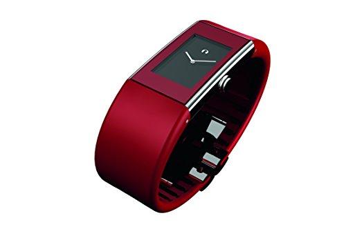Rosendahl - 43168 - Montre Homme - Quartz - Analogique - Bracelet Caoutchouc Rouge