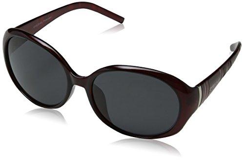 Eyelevel Women's Jocelyn Sunglasses, Purple/Grey Polarized, 60