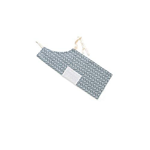 Fett Streifen-baumwoll-shirt (Kinder Schürzen Kochschürze Kinder Backschürze Bastelschürze Gartenschürze Malschürze, Einstellbare Streifen Latzschürze mit großen Taschen Chef Kitchen Cook Tool)