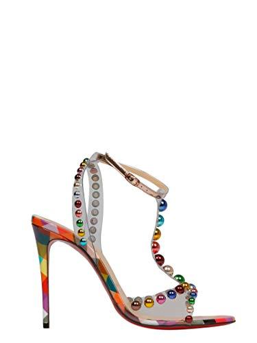 Christian Louboutin Scarpe con Tacco Donna 1190987Cma3 Pelle Multicolor